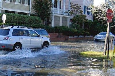 Flood in San Francisco, California