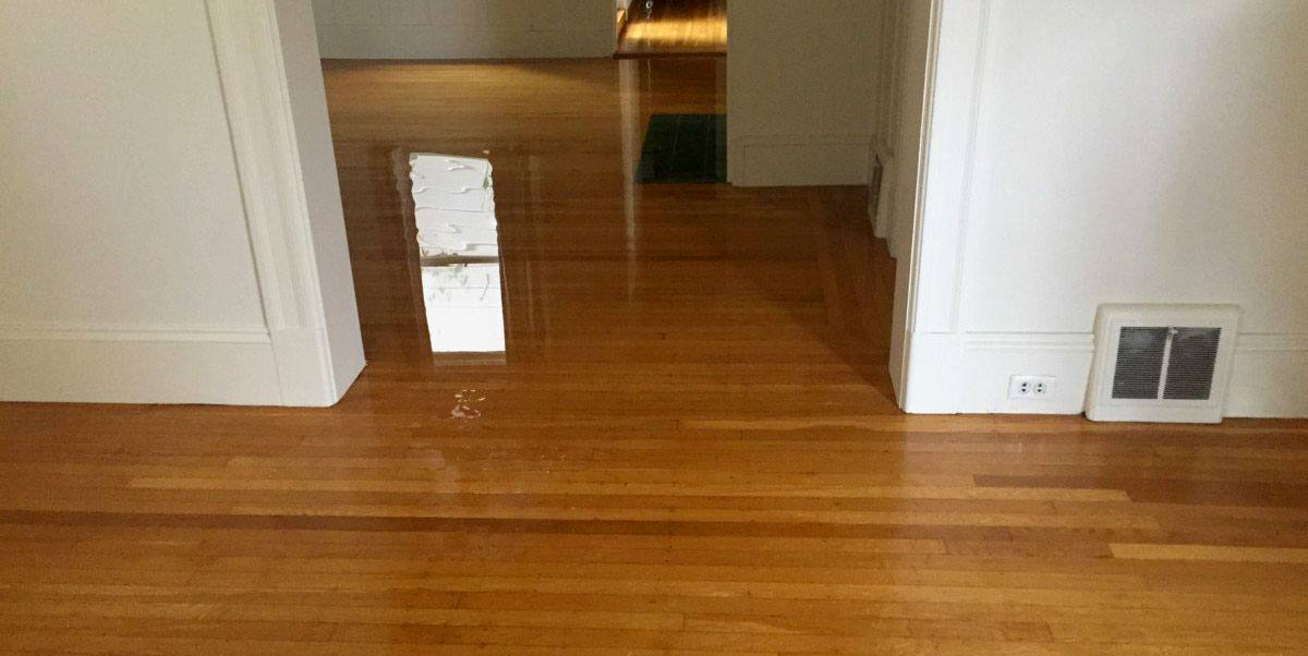 What should homeowners do in a case of a flood